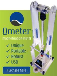 Introducing the Qmeter magnetic remanence meter