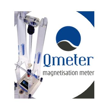Qmeter Magnetic Remanence Meter